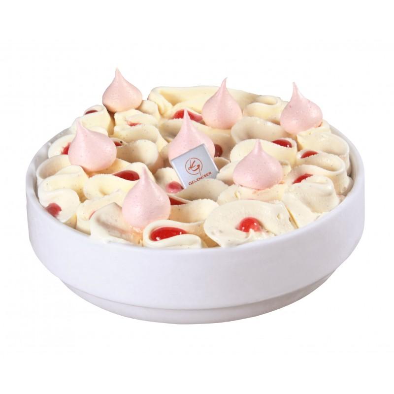 Ramequin vanille fraise
