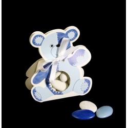 Ballotin Nounours Bleu