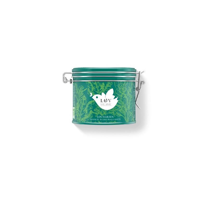 Løv is green