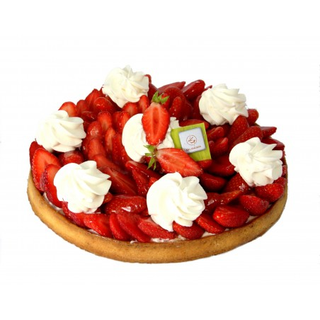Tarte Fraise Chantilly