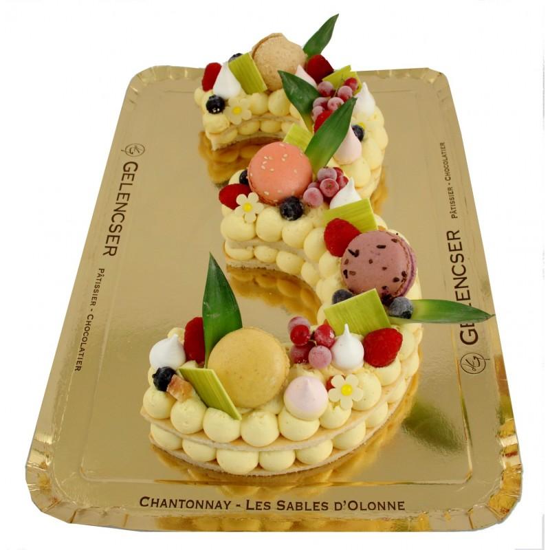 Gâteaux Chiffres