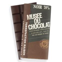 Tablette Noir 70% Musée du Chocolat