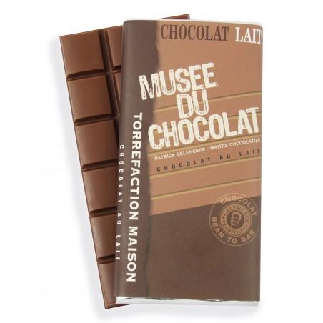Tablette Lait Musée du Chocolat