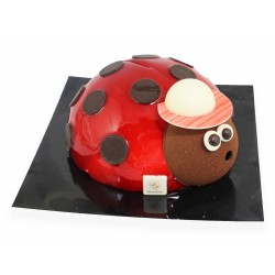 Coccinelle bombe glacée