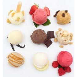 Crème glacée et sorbet maison