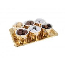 amandes Medicis au chocolat en timbales