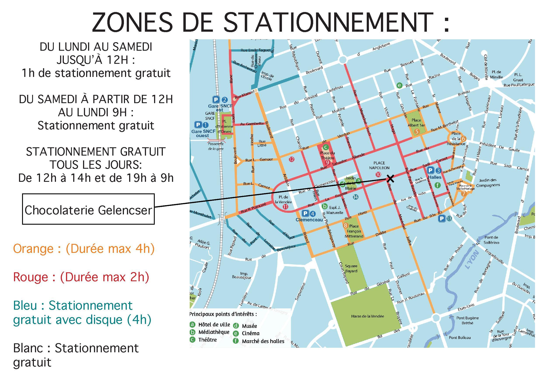 Stationnement La Roche