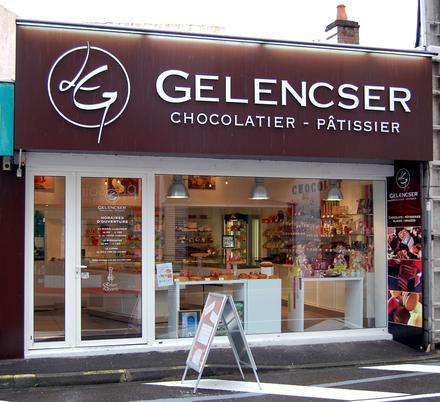 Gelencser chocolatier aux Sables d'Olonne